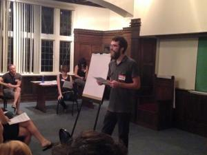 Andrew presented information about membership into SURJ Nashville. If you'd like to become a member, click here!